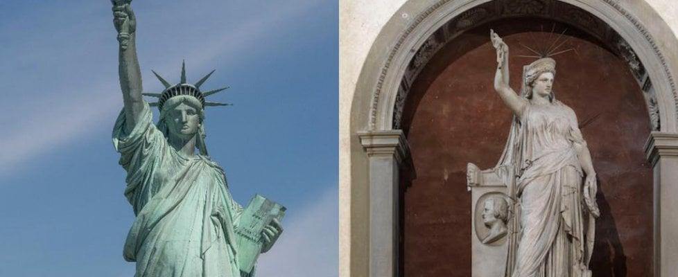 La Statua della Libertà di New York? Ispirata da un'opera che si trova a Firenze