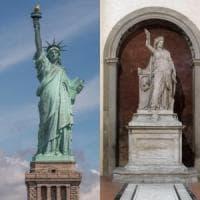 La Statua della Libertà di New York? Ispirata da un'opera che si trova