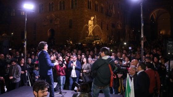 Firenze, centomila voti e Nardella fa subito il bis