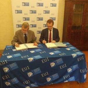Fondazione Cr Firenze e Eui, accordo nel segno dell'unione dell'Europa