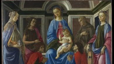 """La Pala di Sant'Ambrogio rivela il """"tormento creativo"""" del giovane Botticelli"""
