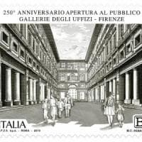 Uffizi, un francobollo celebra i 250 anni dell'apertura