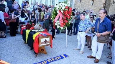 A San Miniato in 300 per i funerali di Orsetti    foto -     video