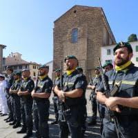 Firenze, in piazza del Carmine festa per i 245 anni della Guardia di Finanza