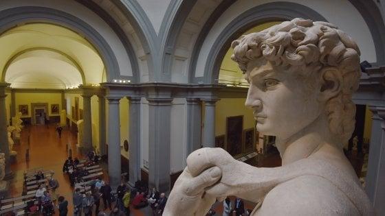 """Firenze, l'annuncio di Bonisoli: """"Accademia formerà polo unico con gli Uffizi"""""""
