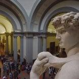 """L'annuncio di Bonisoli: """"Accademia formerà polo unico con Uffizi""""   vd"""