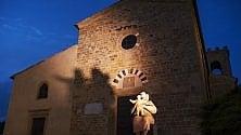 Castelfalfi tra sogno  e mito le sculture di Franco Mauro Franchi