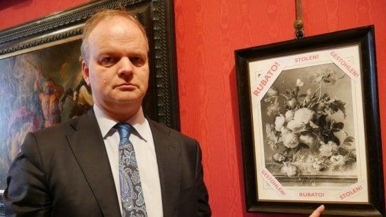 Torna a Firenze il quadro rubato agli Uffizi durante l'occupazione tedesca