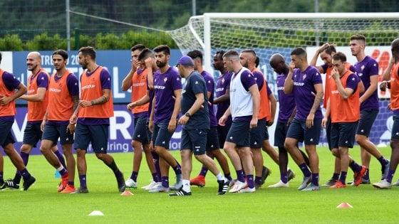 Fiorentina, primo allenamento a Moena. Veretout si fa male in ...