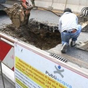 Firenze, lavori in via dei Serragli: da venerdì chiuso l'incrocio con via Santa Maria