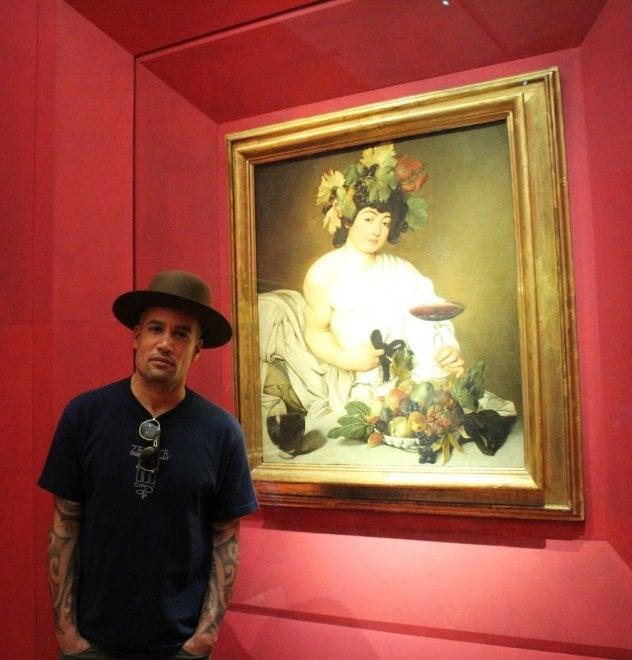 Firenze, il rock invade gli Uffizi: Franz Ferdinand e Ben Harper in visita alla Galleria