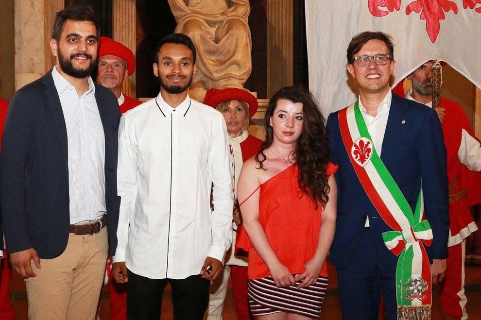 Firenze, festa in Palazzo Vecchio per 300 neo diciottenni