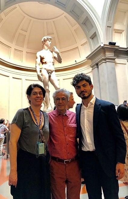 Caetano Veloso in visita a Palazzo Vecchio, venerdì sera il concerto