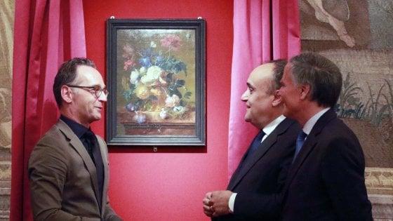 Dopo 75 anni è tornato a Firenze il quadro rubato durante l'occupazione tedesca