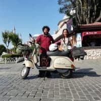 Da Livorno a Persepoli in Vespa: in sella tra la Grecia e la Turchia tra