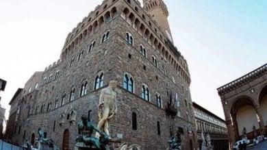 Al via il restauro degli scaloni vasariani di Palazzo Vecchio
