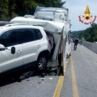 Tamponamento sulla Fi-Pi-Li, superstrada chiusa per quattro ore