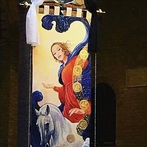 Siena, svelato il drappellone firmato da Milo Manara