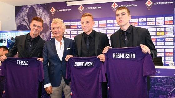 Fiorentina, Zurkowski, Rasmussen e Terzic in maglia viola