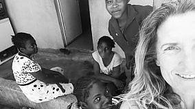 Perla adesso pedala in Angola   Prima tappa, la Namibia