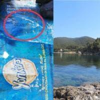La vita infinita del sacchetto di patatine scaduto nel 1990 e ritrovato su una spiaggia dell'Elba