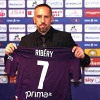 Fiorentina, è il giorno di Ribery: