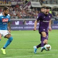 Pazza Fiorentina, sconfitta amara con il Napoli