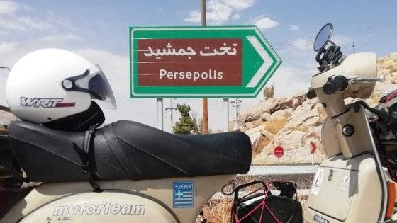 Da Livorno in Iran in Vespa: storia e bellezza, benvenuti a Persepoli