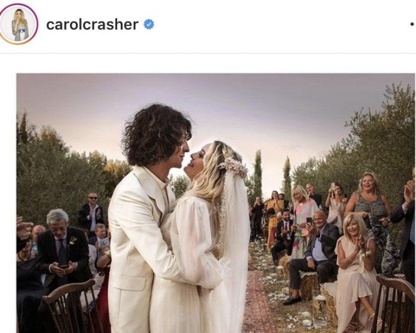 """In Maremma, si è sposato Motta: """"Il più bel giorno della vita"""""""