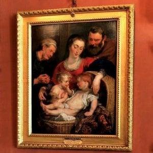 """Firenze, la """"Madonna della Cesta"""" di Rubens torna a Palazzo Pitti"""