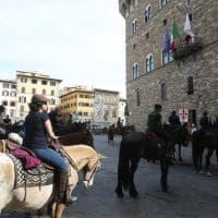 Trekking urbano a cavallo per le strade di Firenze