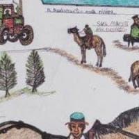 Mostro di Firenze, i disegni di Pacciani esposti a Venezia