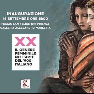 Arte, in mostra il genere femminile nel '900 italiano