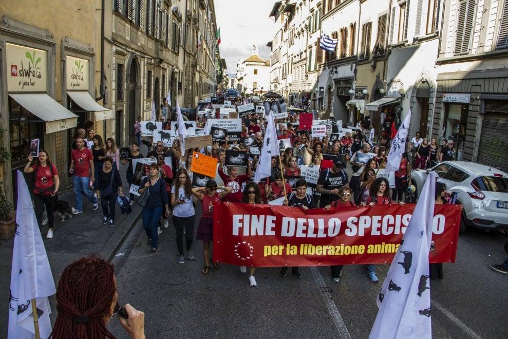 No allo sfruttamento degli animali, a Firenze in 200 alla marcia per la fine dello specismo