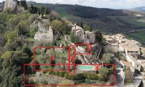 Rocca d'Orcia, un albergo diffuso a cinque stelle nell'antico borgo di Santa Caterina da Siena