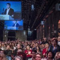 Firenze, Leopolda numero 10: Renzi, prima volta senza Pd