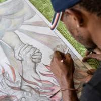 Arte e diritti umani, a Pratovecchio in mostra le opere di giovani artisti