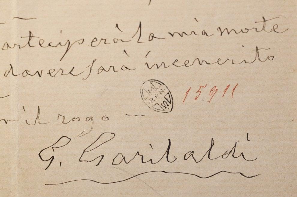 Da Garibaldi a La Pira, a Firenze in mostra i testamenti dei grandi italiani