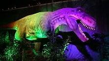 Firenze piomba nel Giurassico, a Novoli la Dinosaur Invasion -  foto