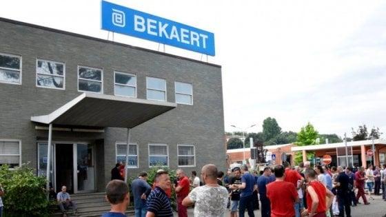 """Bekaert di Figline, gli operai: """"Prorogare la cassa integrazione"""""""
