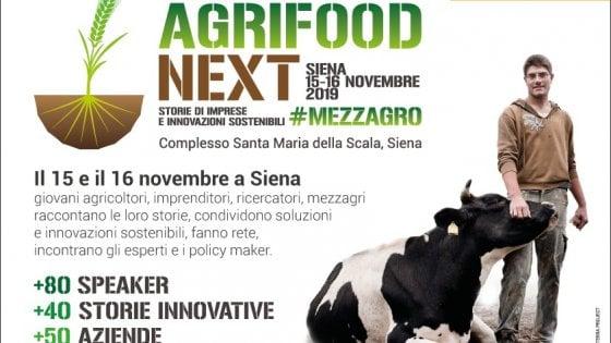 """Storie di imprese e innovazioni sostenibili, a Siena arriva """"Agrifood Next"""""""