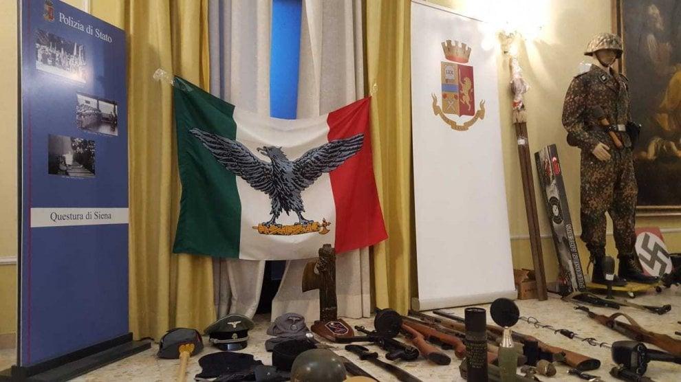 Toscana, l'arsenale sequestrato ai 12 indagati che progettavano di far saltare una moschea