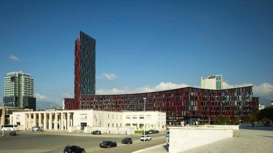 Il nuovo stadio di Tirana ha la firma di Firenze