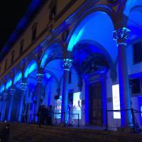 I monumenti di Firenze si tingono di blu per celebrare la Giornata Mondiale dell'Infanzia