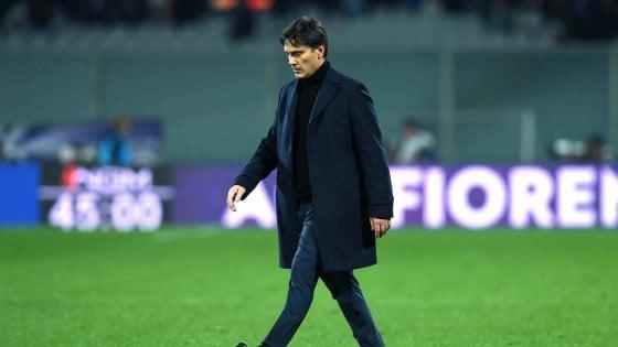 """Fiorentina, Montella: """"Abbiamo rabbia, grazie a Commisso e alla proprietà"""""""