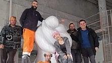 Arriva da Carrara la più grande scultura in marmo esposta in Giappone