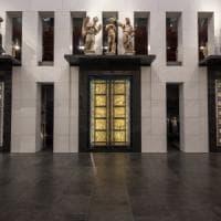 Insieme dopo 30 anni, le tre porte del Battistero di Firenze di nuovo visibili