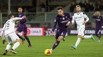 Fiorentina, la reazione non basta: quarta sconfitta consecutiva