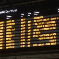 Terremoto nel Mugello, treni in ritardo e caos alla stazione di Santa Maria Novella a Firenze