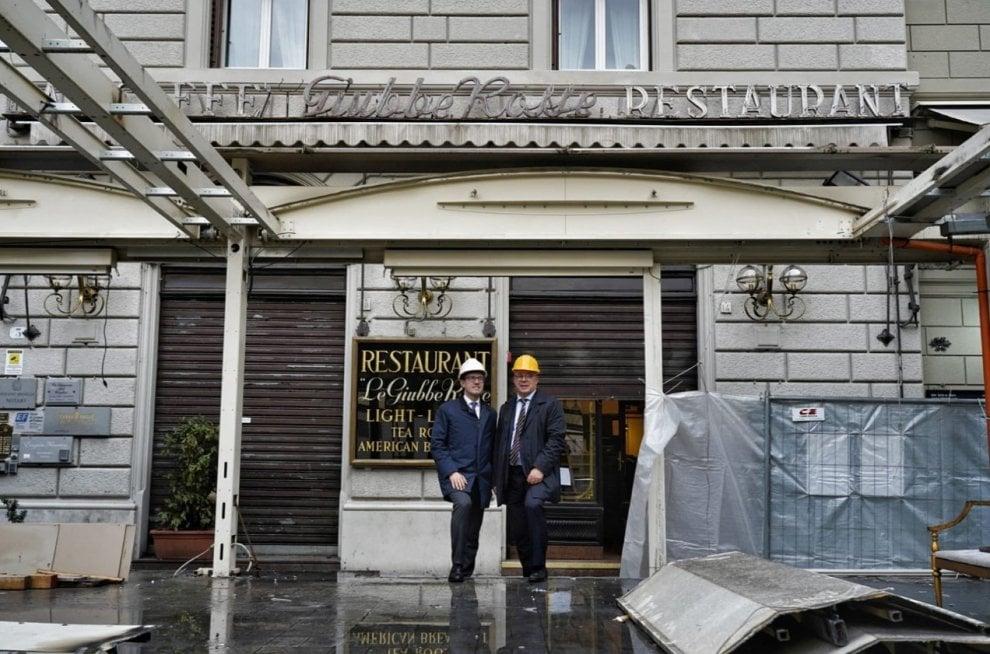 """Firenze, il sindaco Nardella: """"Alle Giubbe Rosse niente dehor, si torna all'antica bellezza"""""""